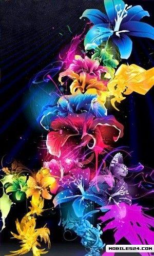 Vibrant Spring Flowers Live Wallpaper T Mobile MyTouch 3G App 300x500