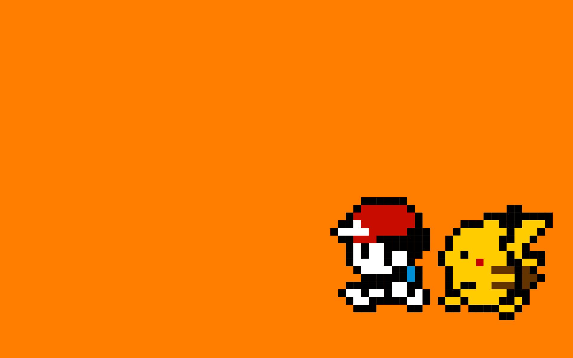 Cool 8 Bit Wallpapers 8 Bit Pokemon 1920x1200