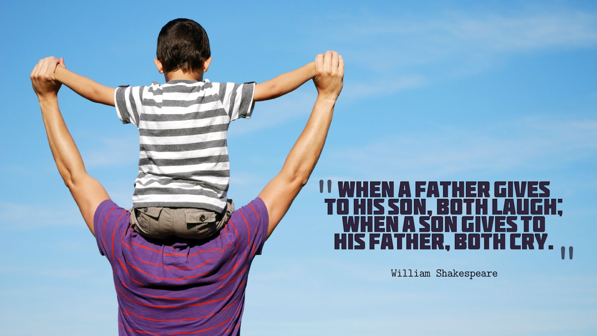 Fathers Day Quotes Wallpaper HD 14282   Baltana 1920x1080
