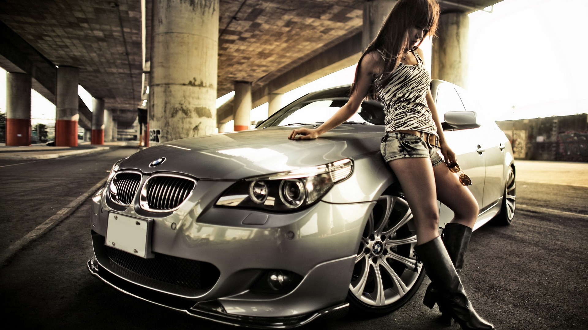 Home Cars Vehicules Cars Girls and Cars Wallpaper hd 1920x1080