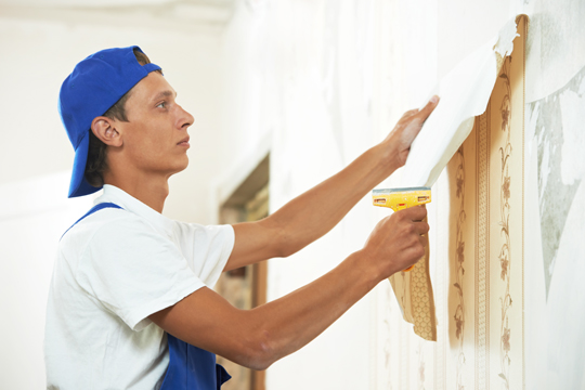 Easy Way To Remove Wallpaper   Painters   Talk Local Blog 540x360
