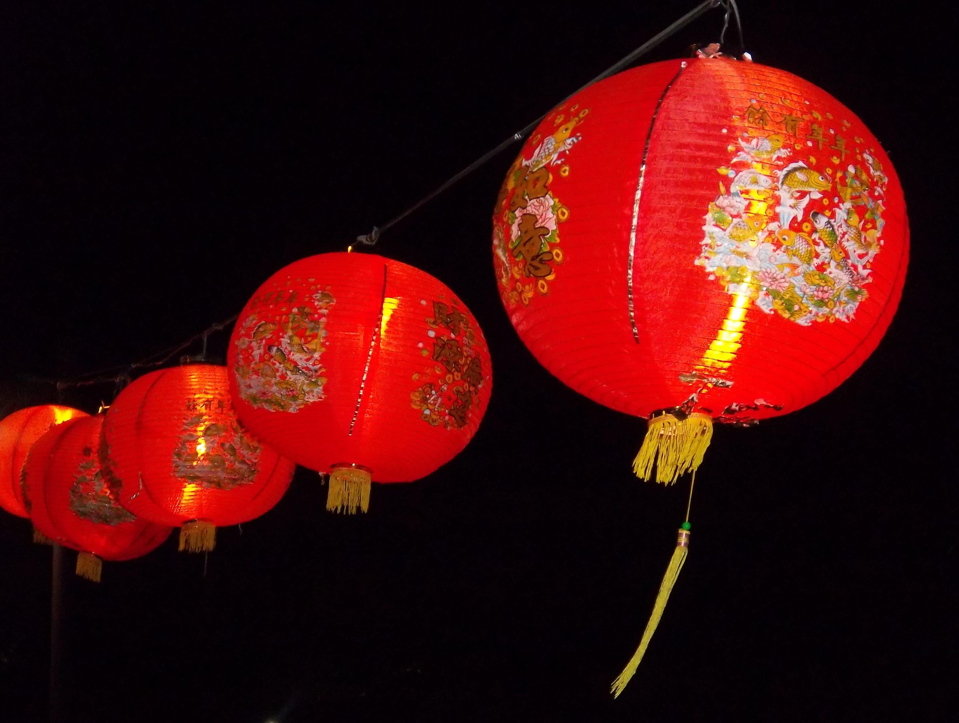 Chinese Lantern Wallpaper - WallpaperSafari