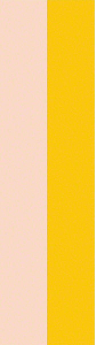 Yellow Stripe Removable WallPaper 333x1200