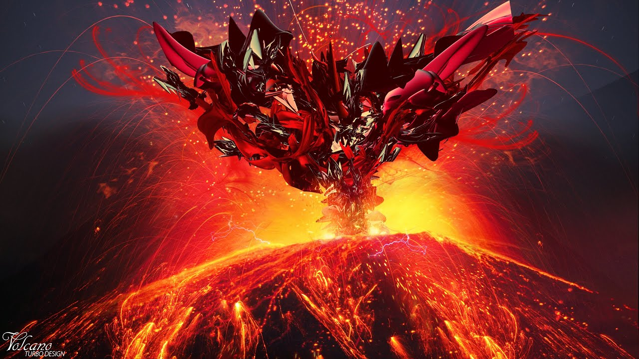Volcano Live Wallpaper 1280x720