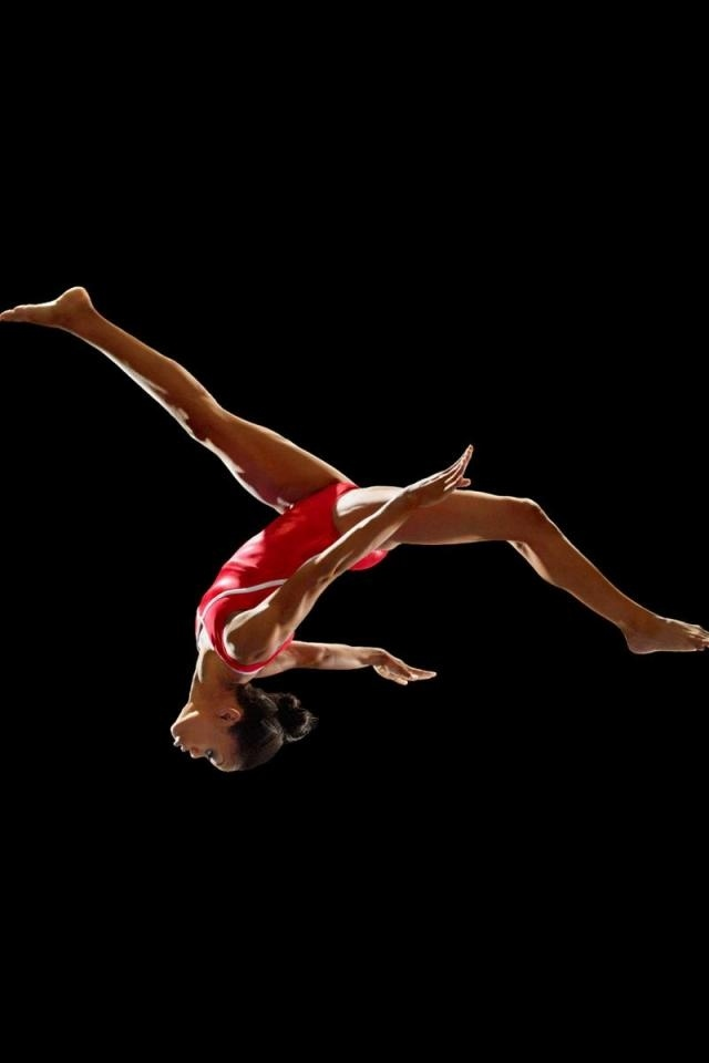 Gabby Douglas Gymnastics iPhone 4 Wallpaper and iPhone 4S 640x960