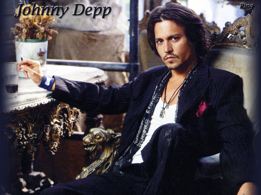 Latest Hollywood Hottest Wallpapers Johnny Depp Wallpaper 1024x768