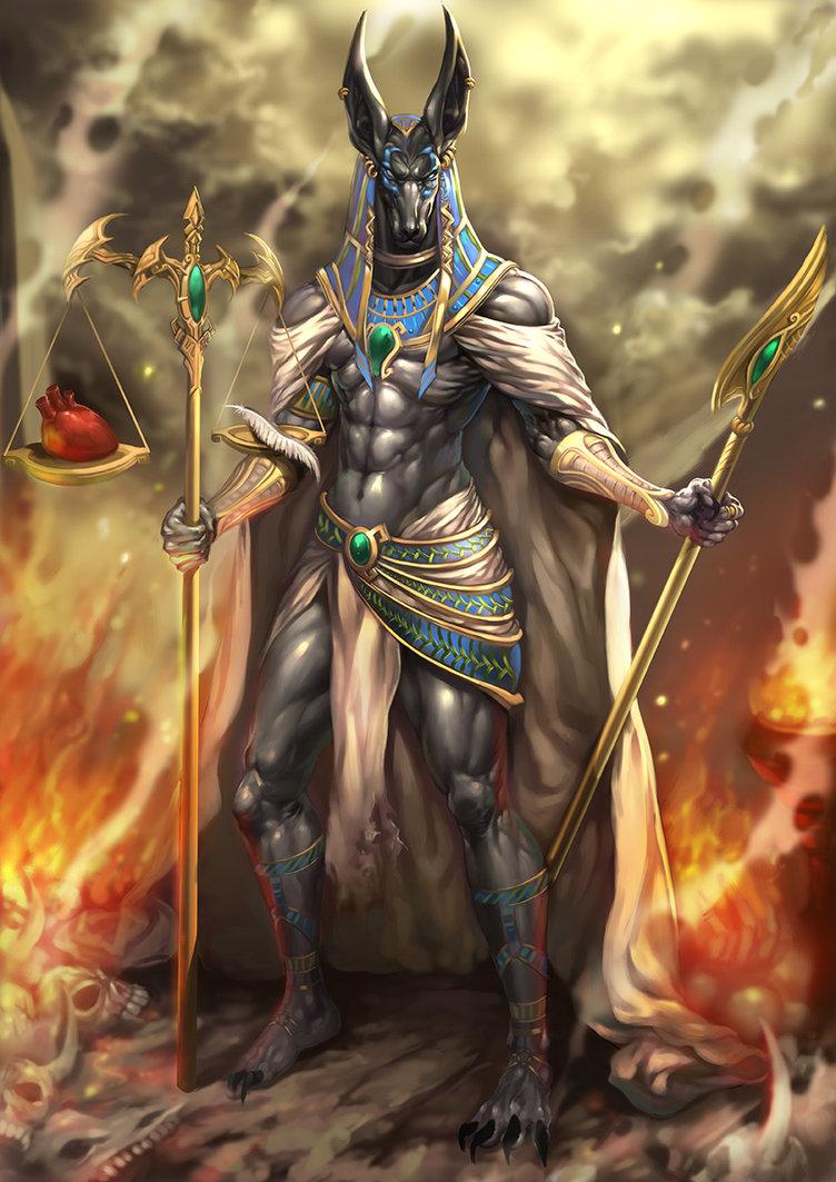 [43+] Anubis Egyptian God Wallpaper on WallpaperSafari