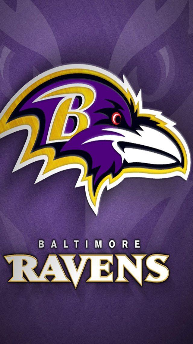 Baltimore Ravens Logo 640x1136