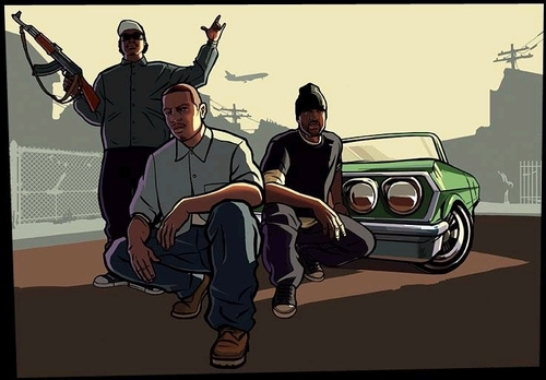92 Grand Theft Auto San Andreas Hd Wallpapers On