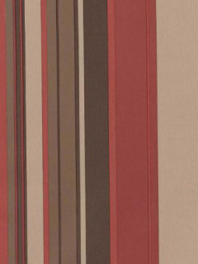 Stripe Retro Wallpaper Burgundy Beige Brown   DY Home Decor 640x853
