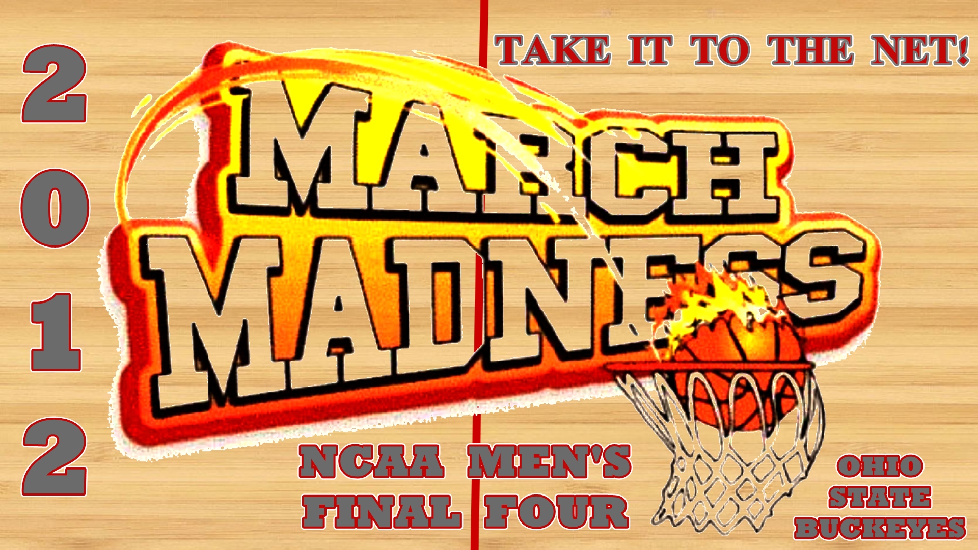 MARCH MADNESS NCAA MENS FINAL FOUR   Ohio State University Basketball 1920x1080