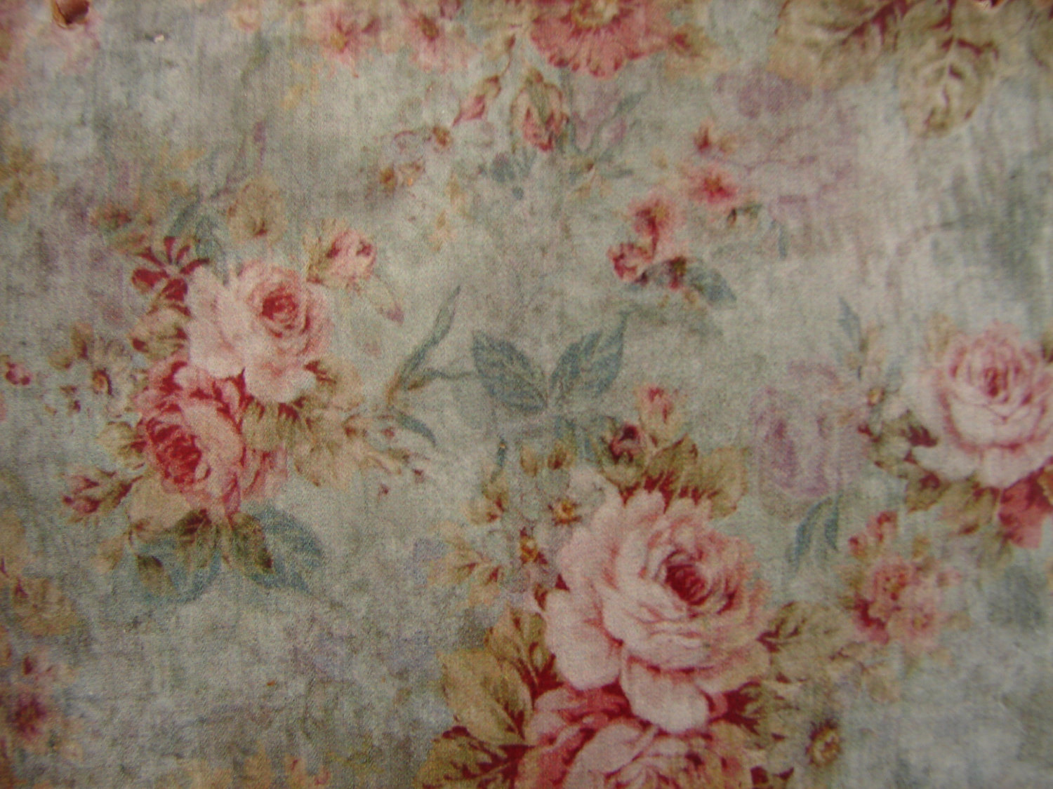 vintage floral wallpaper imageFrench shabby by shabbyfrenchstyle 1500x1125