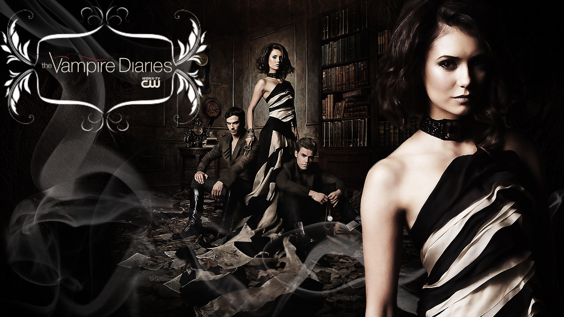 48+ The Vampire Diaries HD Wallpapers on WallpaperSafari