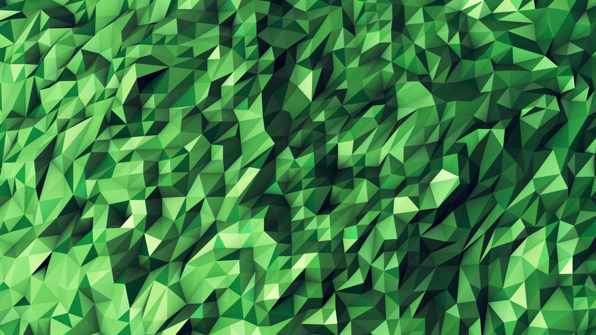 Green Geometric Wallpaper Wallpapersafari