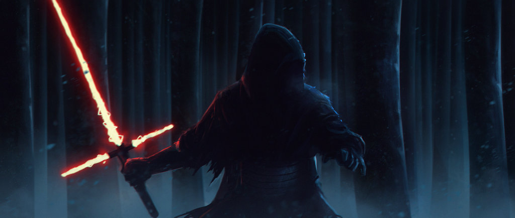 Star Wars   The Force Awakens by SalvadorTrakal 1024x434