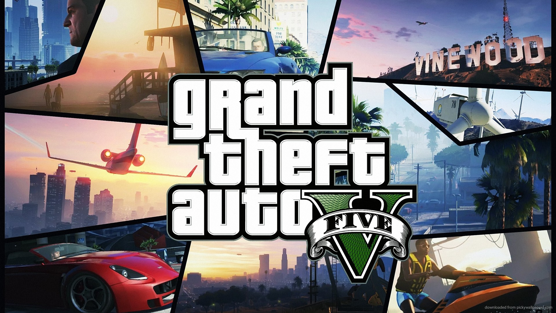 GTA V Wallpaper HD Background 1920x1080