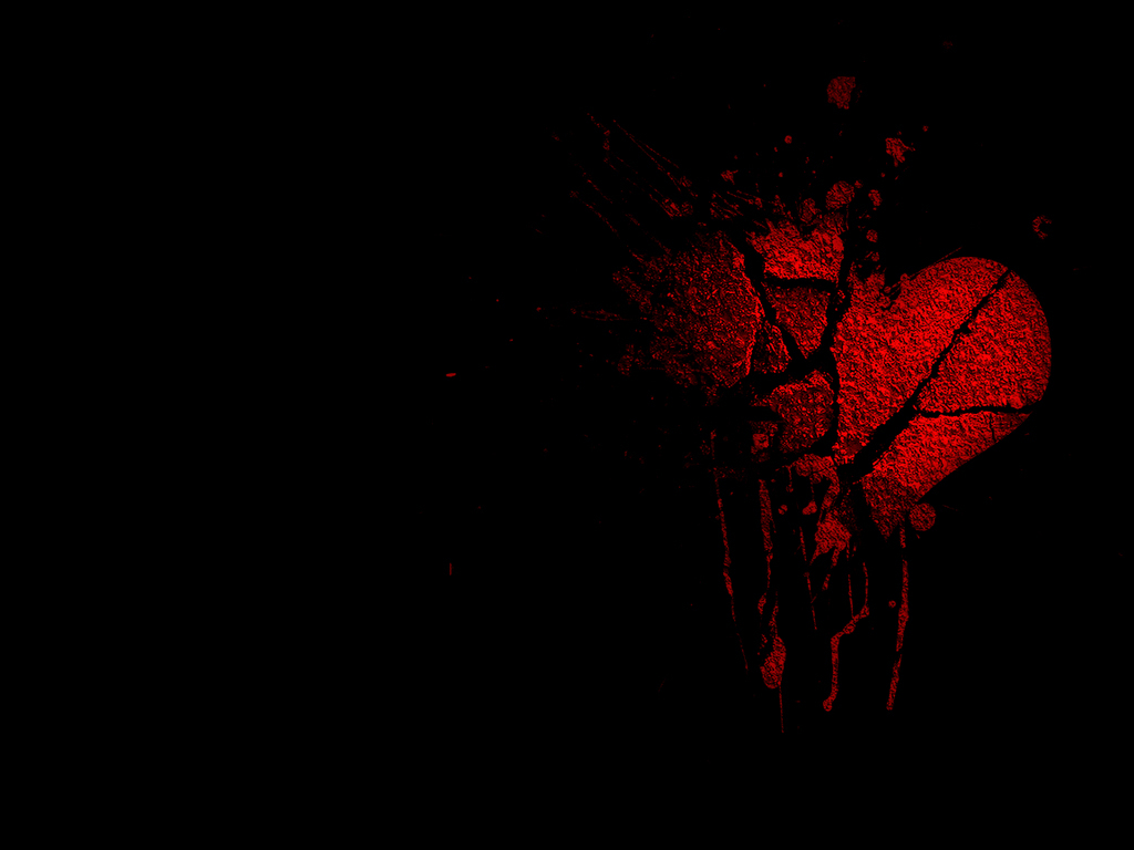 Download 770 Wallpaper Black Broken Heart HD Gratid