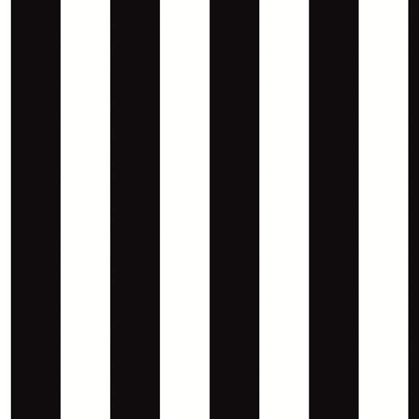 Black and White Striped Wallpaper 1 25 Wide eBay 600x600
