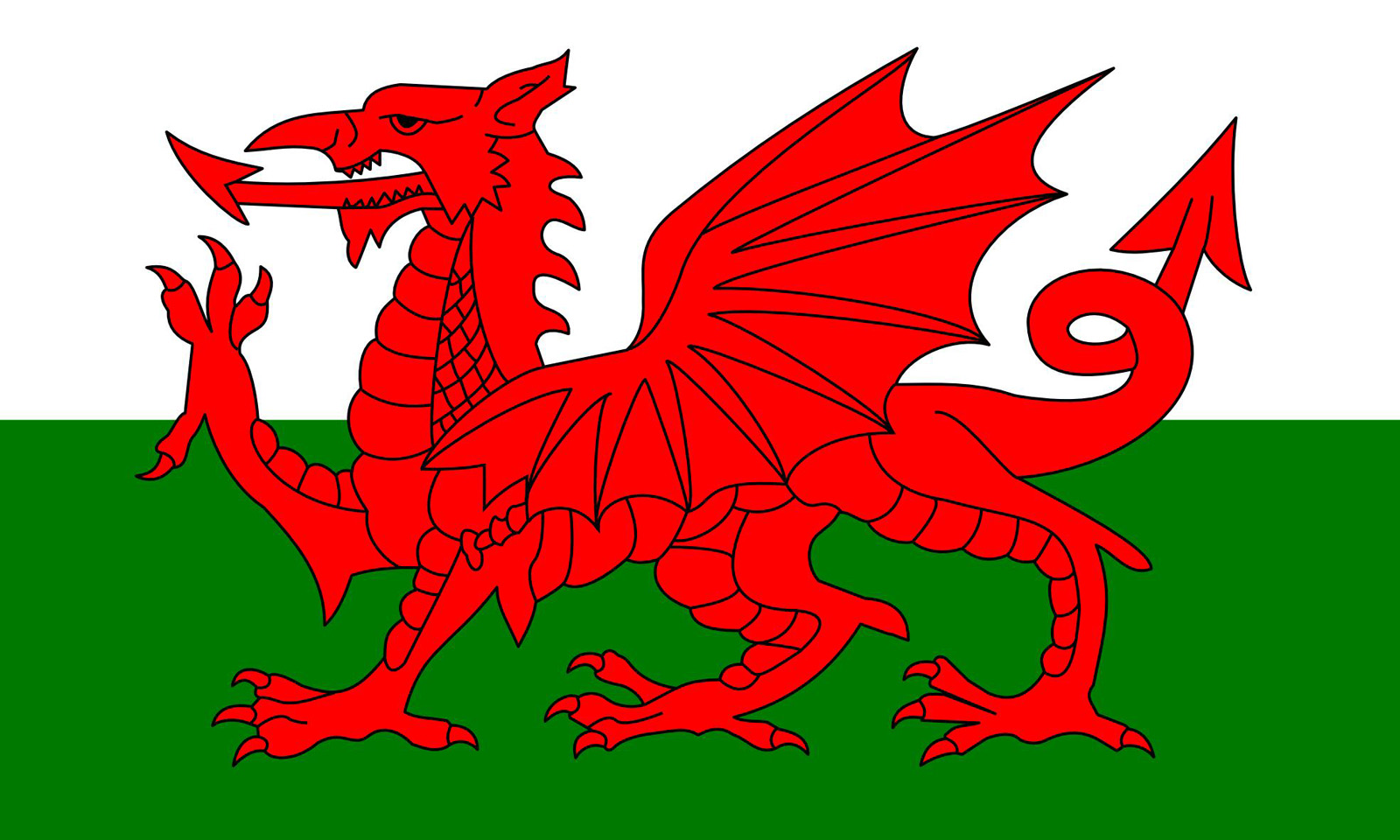 Welsh Flag 1600x960