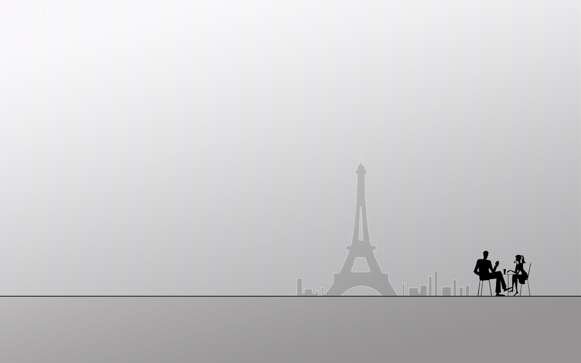Paris Cafe Wall by dimage 1920x1200