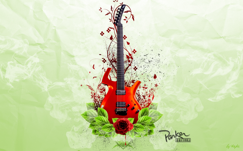 Photoshop Guitar Wallpaper 1440x900
