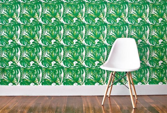 The New Botanicals Bring the Palm Leaf Trend Home Apartment Therapy 539x366
