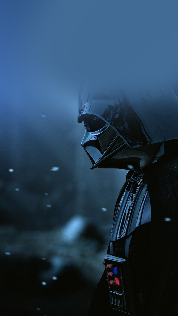 iPhone7papers   ao69 starwars darth vader art film blue 750x1334