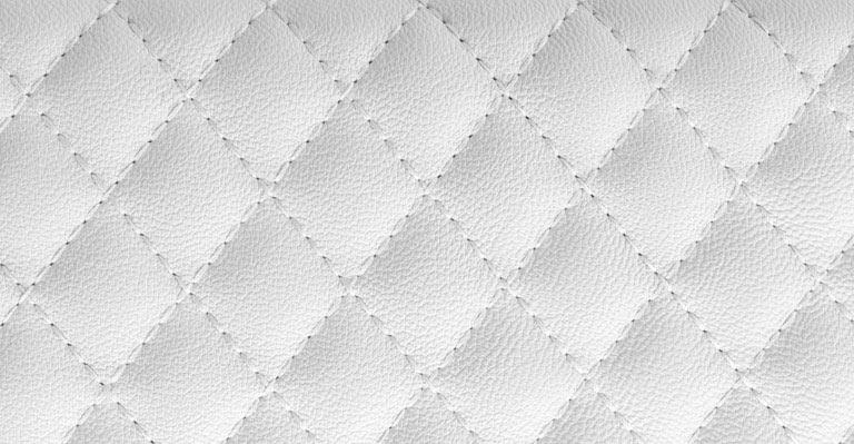 White Leather Wallpaper Wall Decor 768x399