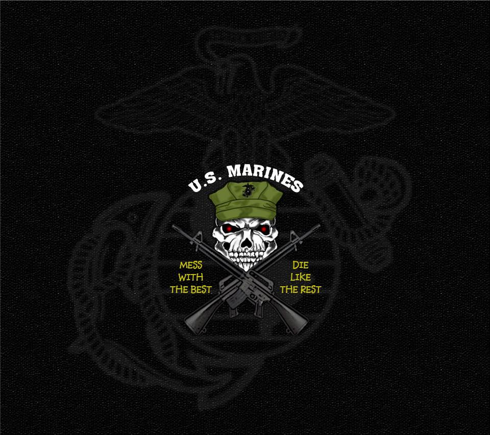 48 Marine Corps Iphone Wallpaper On Wallpapersafari