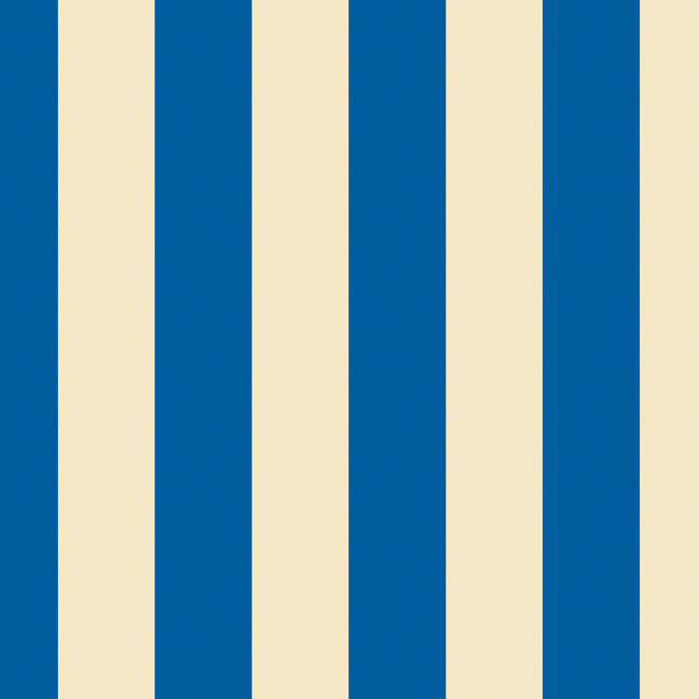 Stripe BlueCream Removable Wallpaper Half Kit   Wallpaper   by 640x640