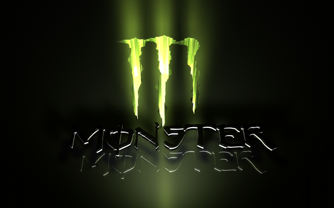 Monster Energy Logo Drink Wallpaper 1280x800 Full HD Wallpapers 1280x800