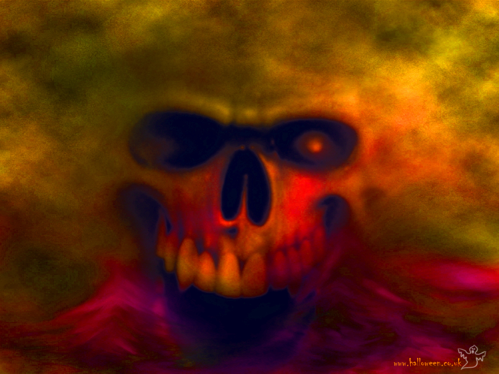 evil skull wallpapers screensaver - photo #40