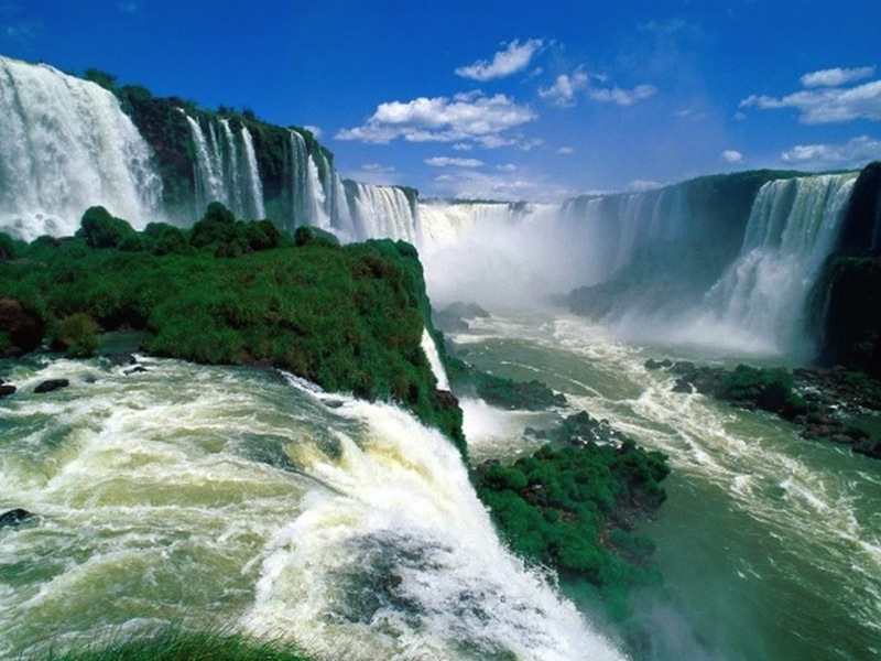 3d waterfall nature wallpapers download 800x600