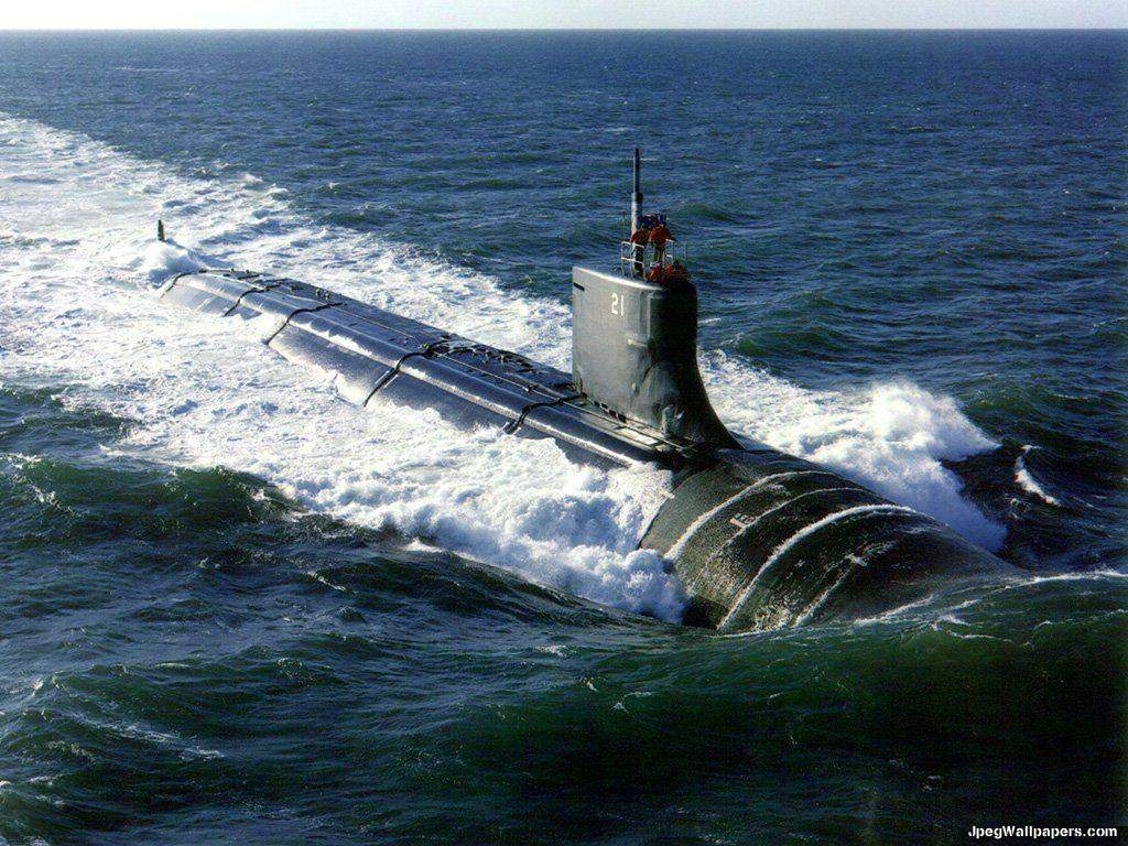 Submarine wallpaper 1024x768