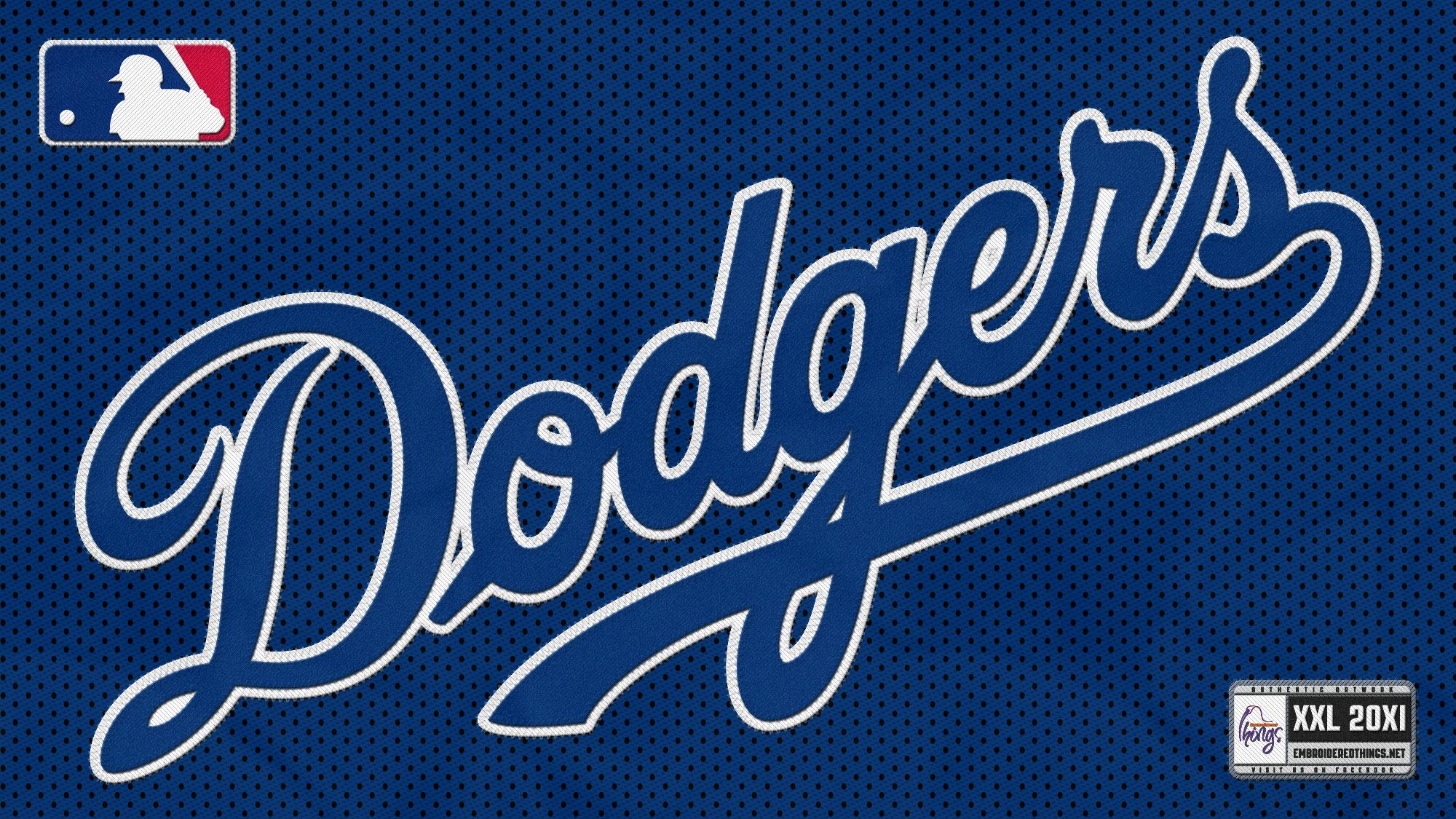 baseballbaseball wallpapers los angeles dodgers logo wallpaperhtml 2000x1125