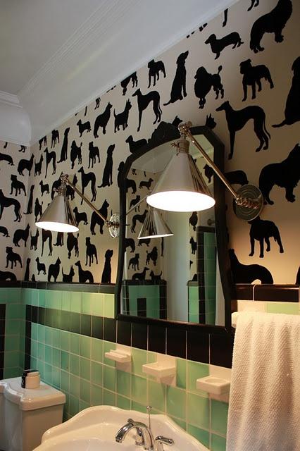 Dog wallpaper is fun Amazing Bathrooms Pinterest 426x640