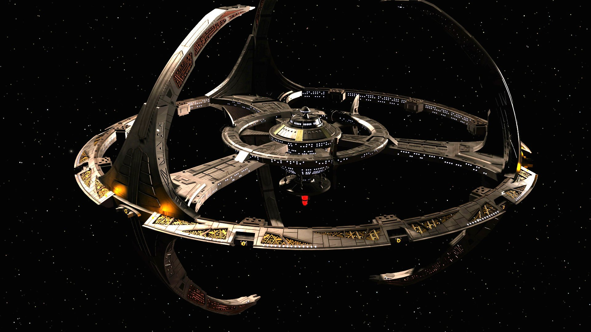 DEEP SPACE NINE Star Trek futuristic television sci fi 1920x1080