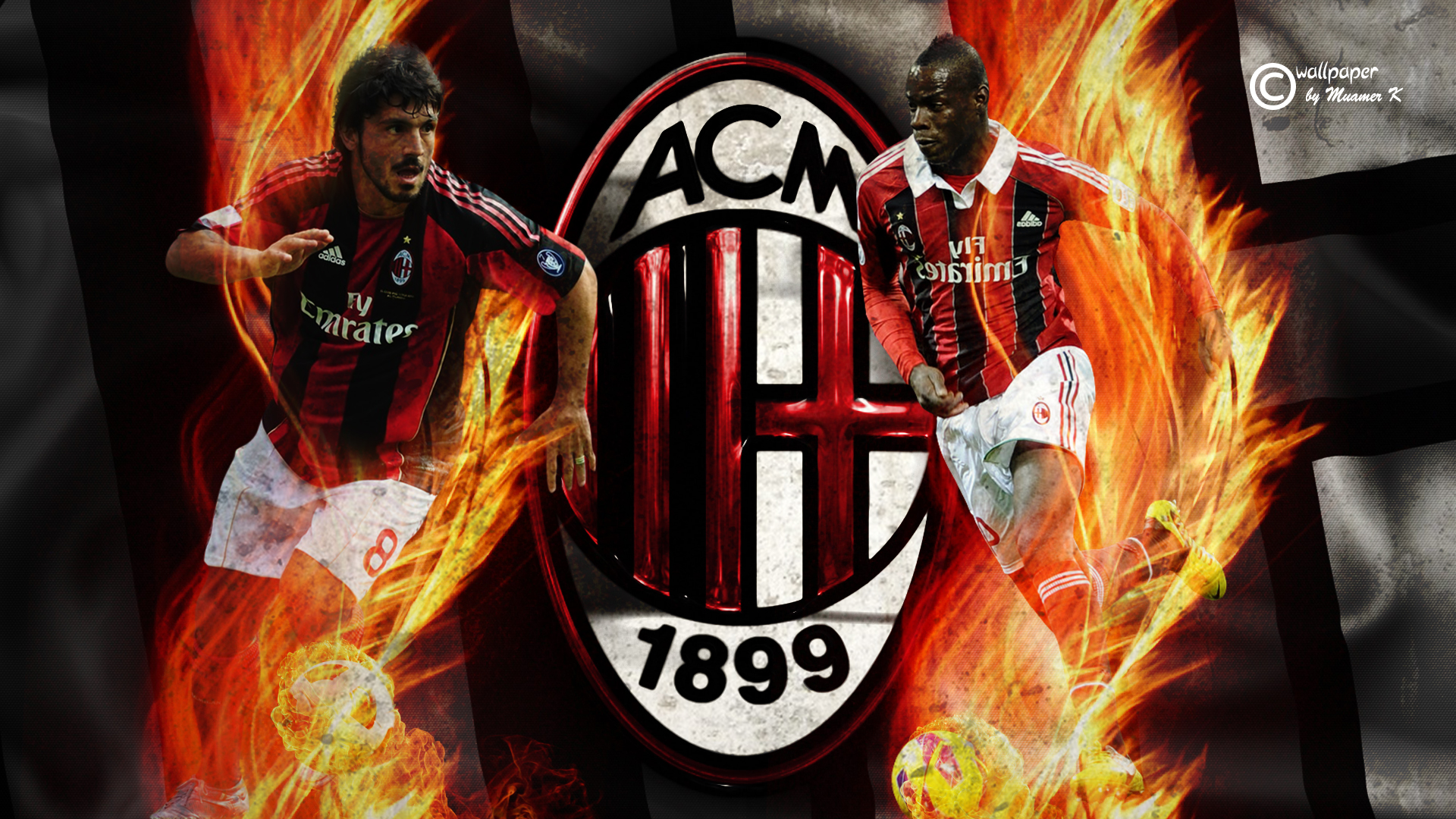 ac milan hd wallpaper by muamerart watch fan art wallpaper movies tv 1920x1080