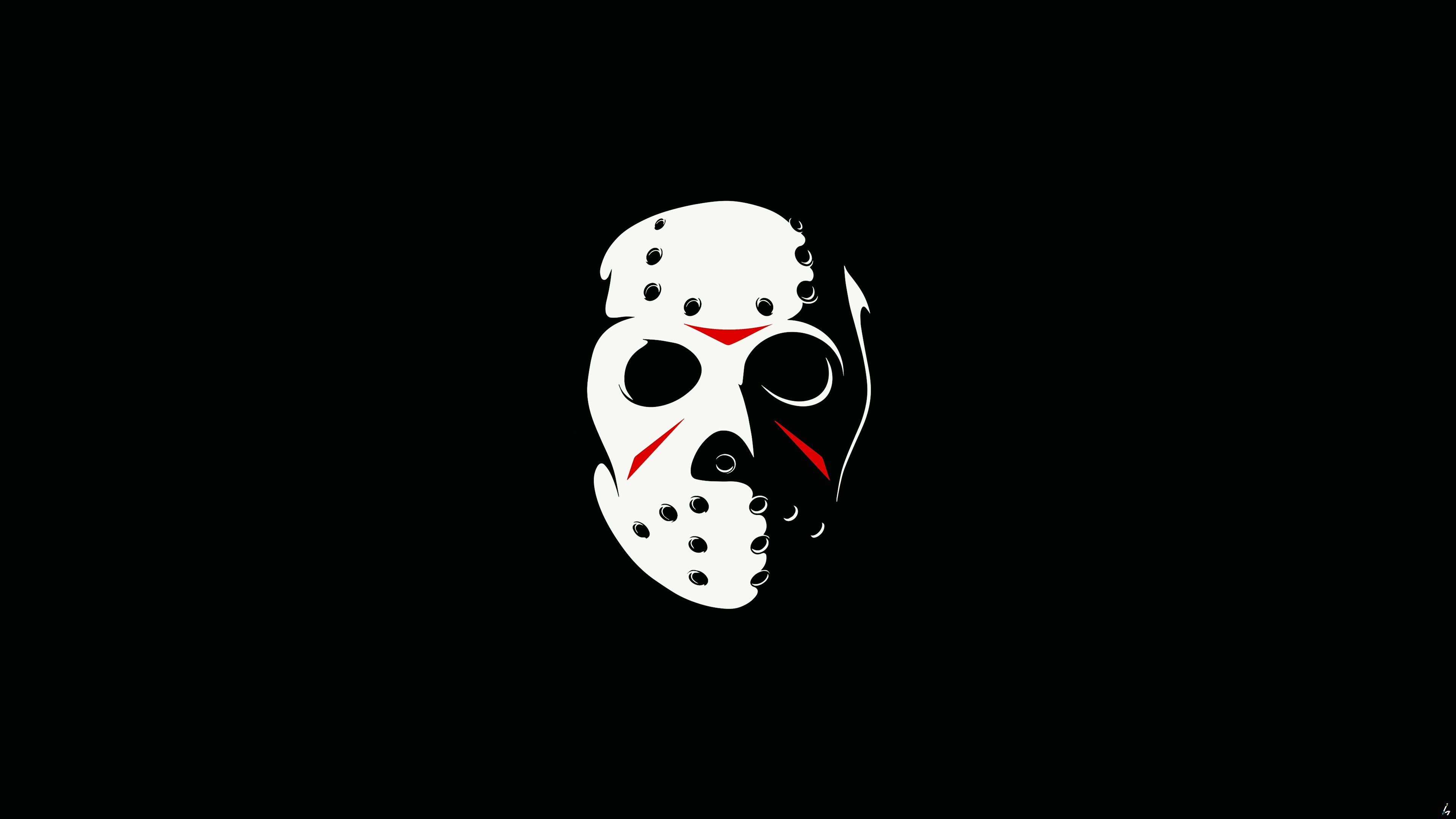 Friday The 13th The Game Minimalism Dark 4k hd wallpapers games 3840x2160