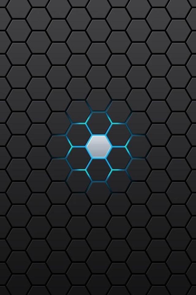 Hexagon Iphone 4 Wallpapers 640x960 Hd Iphone 4 Retina Background 640x960