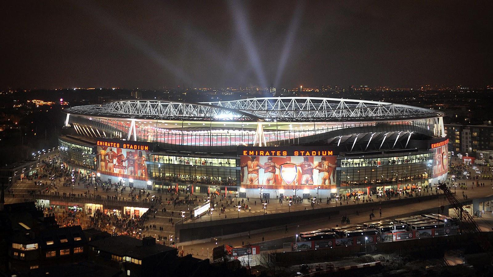 Arsenal Emirates Stadium Wallpaper   Wallpapers 1600x900