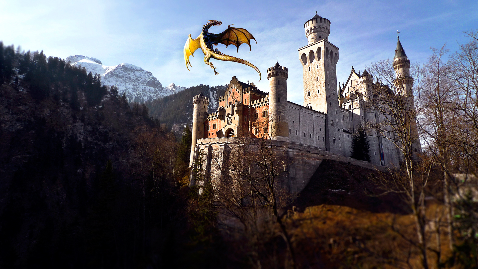 Dragon Castle Wallpapers HD Wallpapers 1920x1080