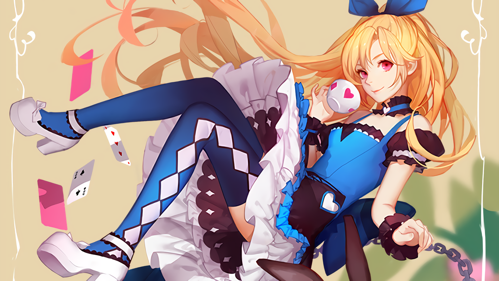 Free Download Alpha Coders Wallpaper Abyss Anime Alice In