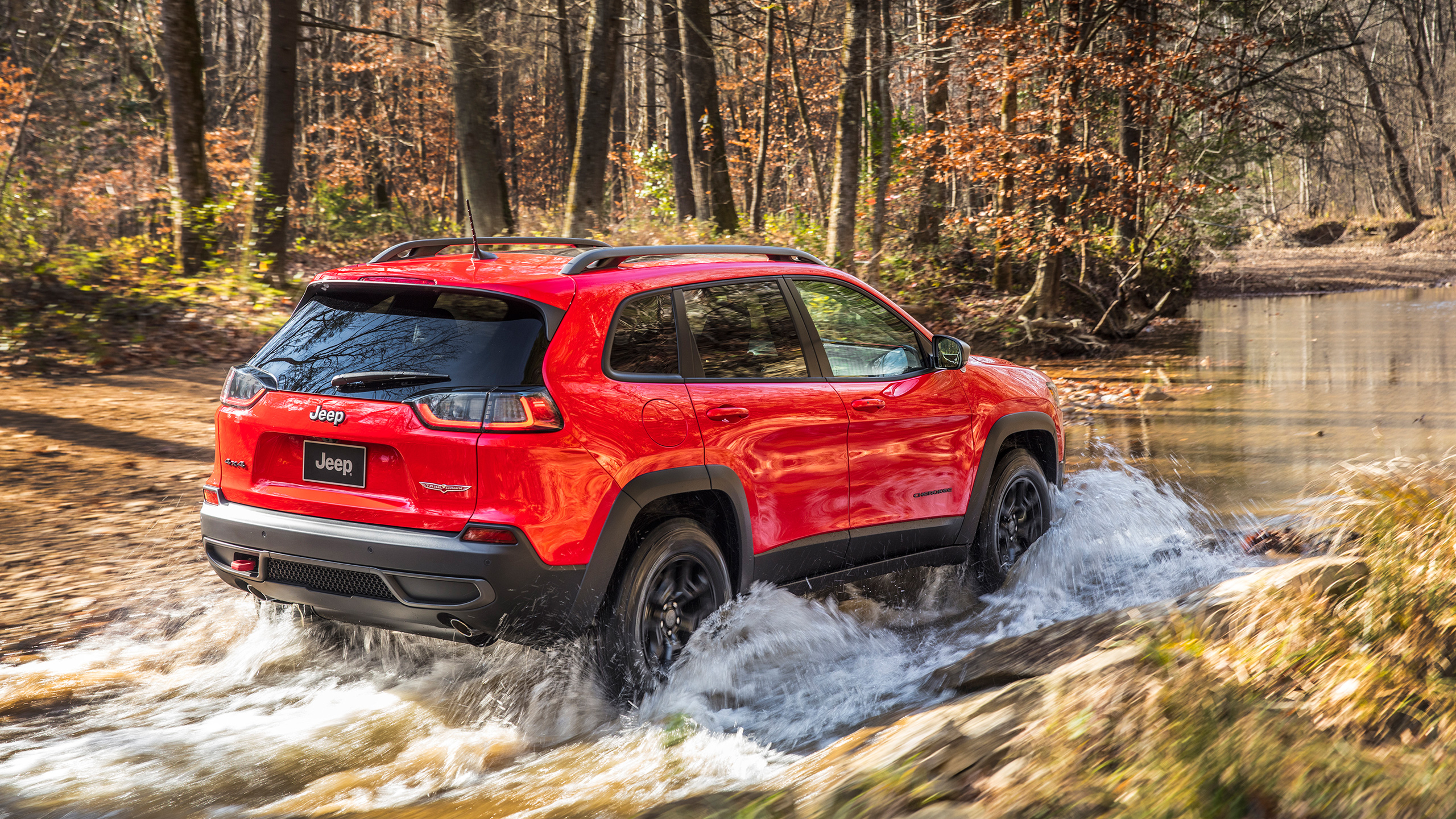 2019 Jeep Cherokee Trailhawk 4 Wallpaper HD Car Wallpapers ID 2560x1440