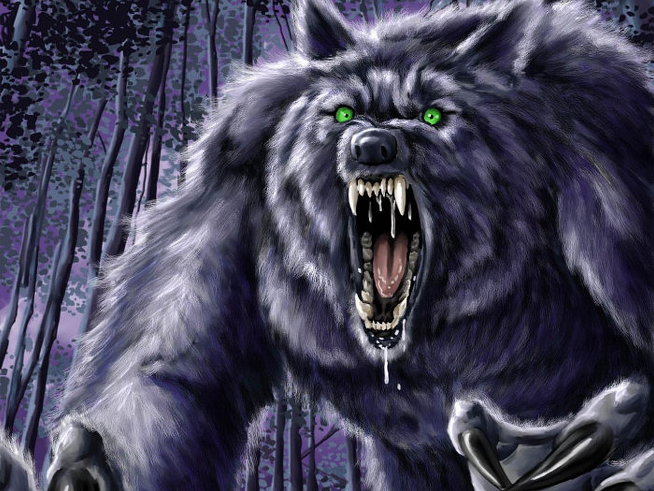 Dark Werewolf Wallpaper 1280x960 Dark Werewolf 1280x960