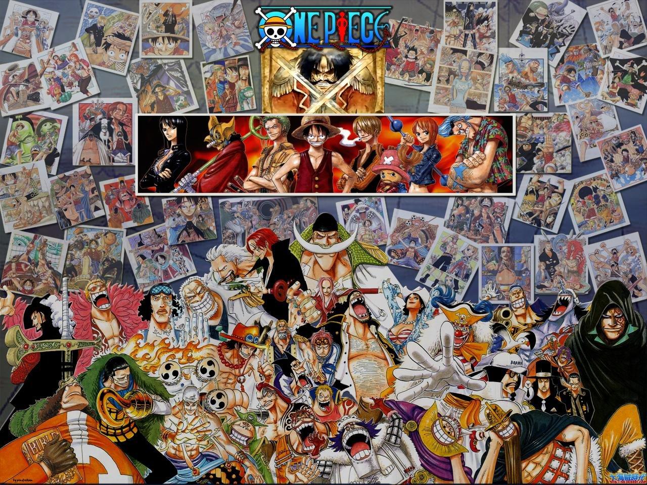 One Piece All Characters Anime Manga Wallpaper HD Widescreen 1280x960