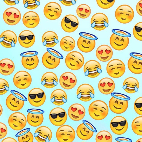 emoji wallpaper Tumblr 500x500