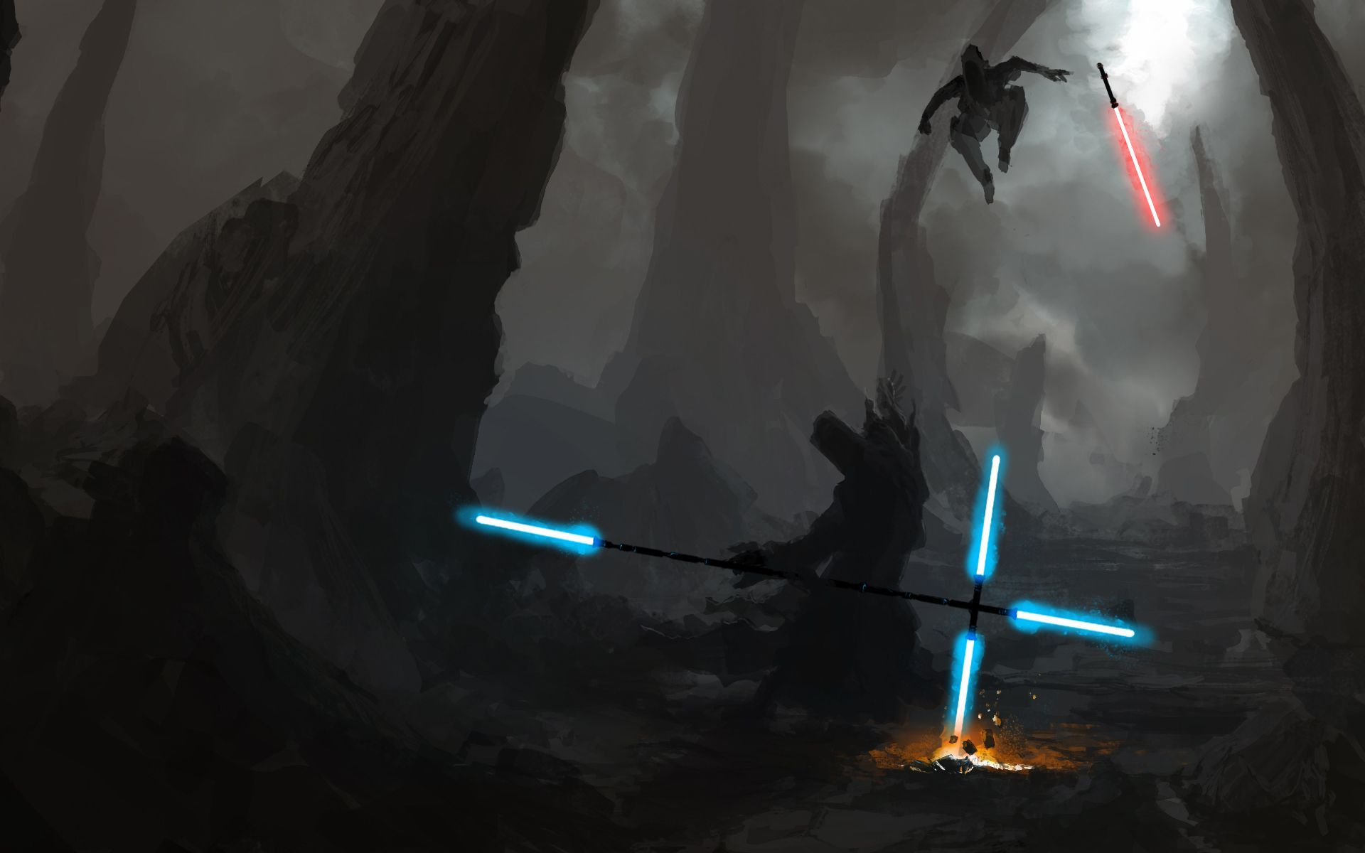 Lightsabers Wallpapers 1920x1200
