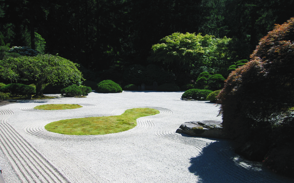 Zen Garden Desktop Wallpaper Wallpapersafari