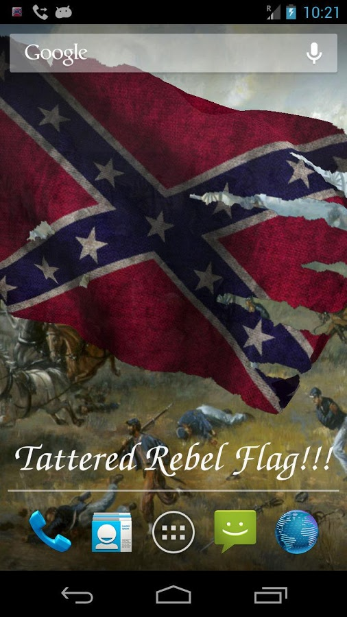 Rebel Flag Live Wallpaper   Android Apps on Google Play 506x900